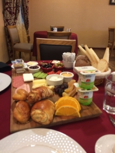 Breakfast in Baku