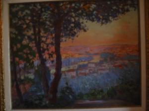 W.S. Horton Paysage au Crépuscule