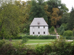 Goethe's Garden House at Park an der Ilm in Weimar, Germany