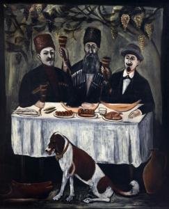 Feast in a Grape Gazebo