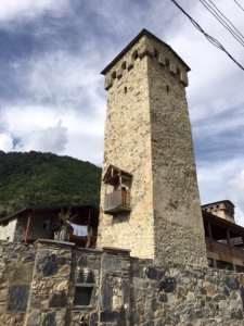 Mediaeval stone tower
